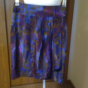 Ellen Tracy Silk Skirt - Size 6